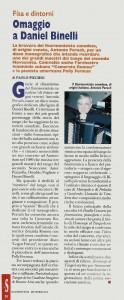 Sir N. Antonio Peruch, Suonare News - September 2015