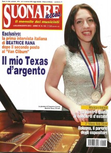 Cav N. Antonio Peruch, Suonare News - August 2013